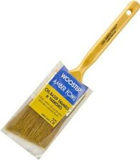 """Wooster 2"""" Angle Amber Fong Paint Brush Natural China Bristle Oil Paint Stain"""