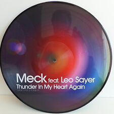 "MAXI 12"" MECK feat LEO SAYER Thunder in my heart again Picture disc 9854949"