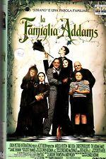 La Famiglia Addams (1991) VHS Columbia  1a Ed.  -