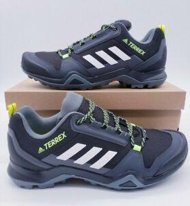 Adidas Terrex AX3 FX4575 Black White Trail Hiking Shoes Men's Size 9