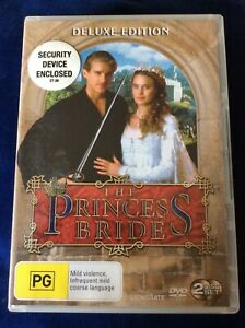 The Princess Bride - Region 4 DVD - 2 Disc Deluxe Ed - Great Condition FREE POST