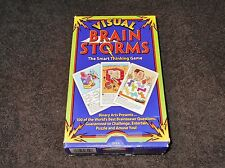 VISUAL BRAIN STORMS THE SMART THINKING GAME 1995 BINARY ARTS CORP  100% COMPLETE