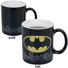 Dc Comics - Batman Logo Heat Change Mug - Multicolor - Changing Ceramic