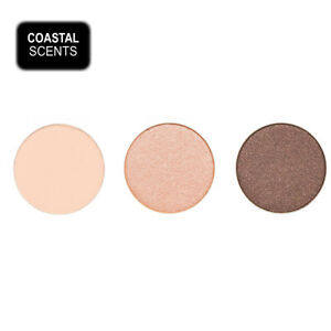 3 FOR THE PRICE OF 2 - Coastal Scents Hot Pot Eye Shadow - SET 8