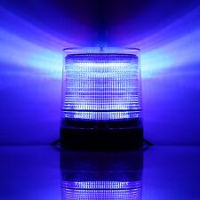 10W LED Vehicle Roof Beacon Flash Warning Strobe Emergency Light 12V/24V Blue