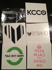 the Chive *Authentic* Chivette Temporary Tattoos Keep Calm & On Tattoo KCCO