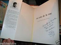 """Patrick PERCHEY """"Au Coin de la Rue"""" album Photos 1983 Envoi d'auteur"""