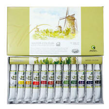 Marie's Watercolor Set Water Color Painting, 12ml/ Tube, 12 Tubes