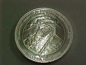 618e) Bunker Hill Silver -Kellogg Tunnel .9995 Fine Silver - Starts at $40.00
