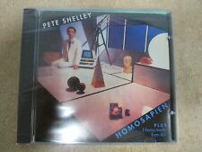 Homosapien by Pete Shelley (CD, Jan-1997, Razor & Tie) 5 bonus tracks  Sealed