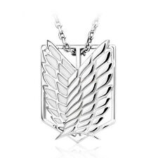 Attack on Titan Shingeki no Kyojin Halskette Kette Necklace Anhänger 925 Silber