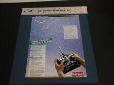 VINTAGE HITEC R/C PLANE-BOAT -CAR -TRUCK ELECTRONICS BROCHURE 4-PAGES *G-COND*
