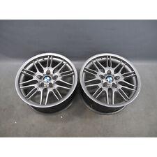 "BMW E39 Replica ///M Double-Spoke Chrome Shadow Style 65 18"" Alloy Wheel Front"