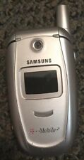 Samsung SGH E315 (Red Pocket) Silver Cellular Phone Fast Ship Good Used Old Flip
