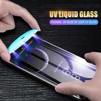 Full UV Glue Liquid Tempered Glass Screen Protector Huawei Mate20 Pro P30 Pro