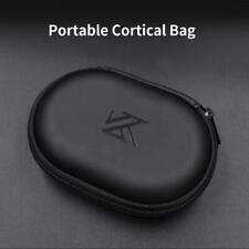 KZ Earphones Storage Bag Organizer PU Square Portable Wired Earbuds Case Box H1