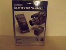 Camlink CBC-105 Universal Camcorder Battery Discharger with Universal Adapter