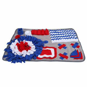 Dog Sniffing Pad Washable Pet Snuffle Mat Durable for Boredom for Training