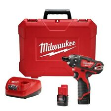 Milwaukee Electric Screwdriver Drill/Driver Brushed Cordless 12 Volt Red