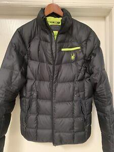 Men's Spyder Down Puffer Jacket Size Medium