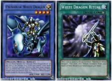 DPKB-UNL Paladin of White Dragon Rare + White Dragon Ritual - 2 Mint YuGiOh Card