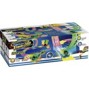 Mindscope Neon Glow City Vehicle Series 360 Twister Tracks