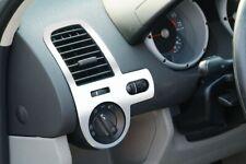 2 x SILVER DASH BOARD DASHBOARD AIR VENT COVERS TRIM for VW POLO 6N2 1999-2001