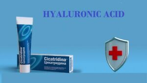 Cicatridina Ointment with HYALURONIC ACID-Antiseptic,Protects skin - 60gr
