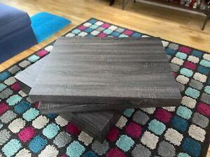 Harding Square Rotating Wood Coffee Table