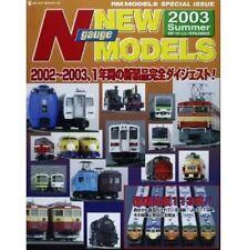 N Gauge New Models 2003 Japanese N Scale Train Modelling Book