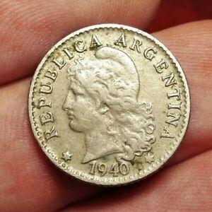 Argentina 5 centavos 1940 coin