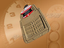 DICKIES FRONT RUBBER FLOOR MAT TAN FOR 2007-2009 IMPORTS CAR TRUCK SUV VAN