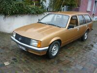 1979 Opel Rekord E1 Caravan Diesel 2300    Frankreichimport