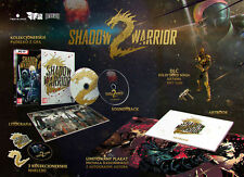 SHADOW WARRIOR 2 SPECIAL LIMITED EDITION PC DVD NEW ARTBOOK ENGLISH COLLECTOR'S