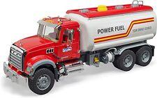Bruder Toys Mack Granite Power Fuel Tanker Truck 02827