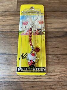 NANA Hello Kitty Key chain Strap Swing JAPAN Ai Yazawa Sanrio 2005 Red Rare