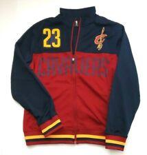 UNK Cleveland Cavaliers Lebron James #23 Warm-Up Jacket Navy/Maroon/Gold Size L