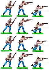 Britains Deetail American Civil War Confederate Infantry Plastic Toy Soldiers