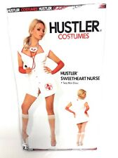 Hustler Womens Sexy Sweetheart Nurse Halloween Adult Dress Up Costume S / M