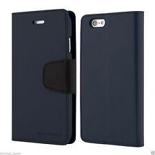 iPhone 6 and 6s Genuine MERCURY Goospery Sonata Navy Blue Flip Case Wallet Cover