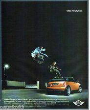 PUBLICITE ADVERTISING 056  2004   la Mini Cabrio Cooper