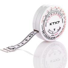 KTX7® BMI Körpermaßband Maßband Umfangsmessband Bandmaß Rollmassband Bauchumfang