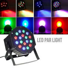 RGB 18 LEDs Par Stage Light DMX Auto Sound Master-slave Disco Party Light UK VES