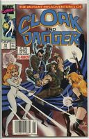 Mutant Misadventures of Cloak and Dagger 1988 series # 10 UPC code near mint