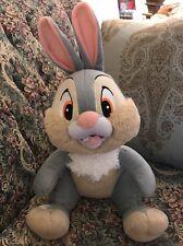 "NEW Bambi  THUMPER Rabbit  plush Large 15"" Disney Just Play NWOT #A7"