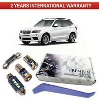 BMW X3 F25 Premium LED Interior Kit 20 SMD White Bulbs Error Free canbus