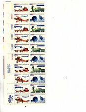 7 US 10c Scott# 1572-1575, 200 Years Of Postal Service 1975 MINT 20 Block MNH