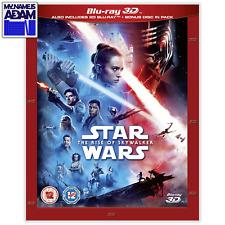 STAR WARS: THE RISE OF SKYWALKER Blu-ray 3D + 2D (REGION-FREE)