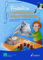 Fridolins musikalischer Adventskalender von Peter Bucher (2002, Gebundene Ausga…