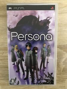 Persona SONY Playstation PSP Video Games Japanese Version Tracking USED
